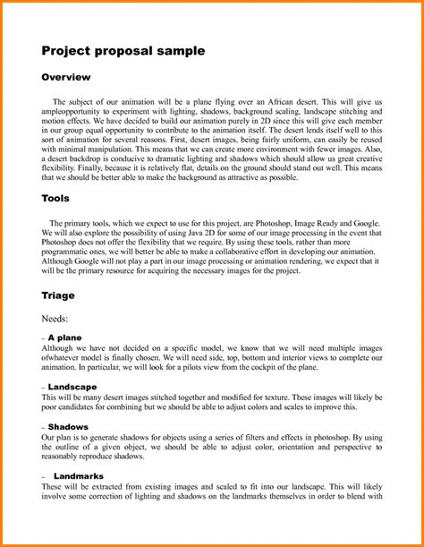 9 project proposal template quote templates