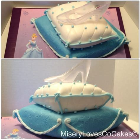 cinderella slipper cake the cinderella princes pillow glass slipper cake yelp