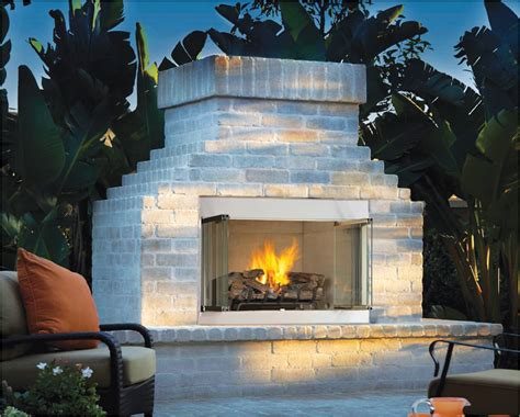 Firebox For Outdoor Fireplace by Fmi Products Outdoor Fireplace Alpine Emberwest