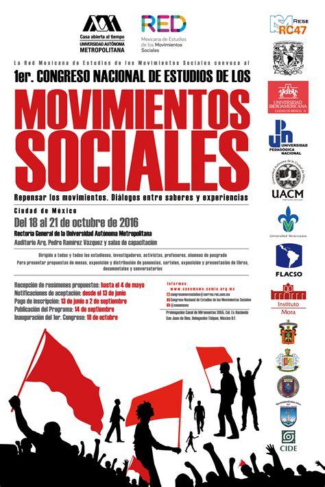 imagenes de redes sociales en movimiento 1er congreso nacional de estudios de los movimientos