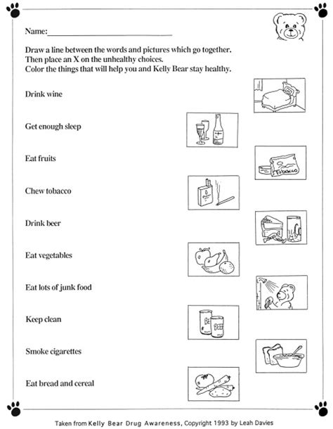 17 best images of healthy lifestyles worksheets for 17 best images of healthy lifestyles worksheets for adults 17 b