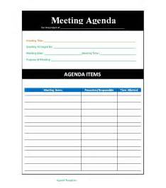 meeting template free 46 effective meeting agenda templates template lab