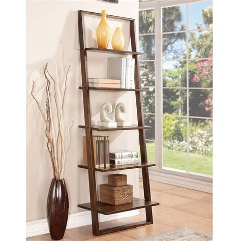 Leaning Book Shelf Riverside Furniture Lean Living Leaning Bookcase In