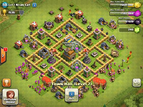 war base layout town hall level 7 level 7 town hall hybrid base car interior design