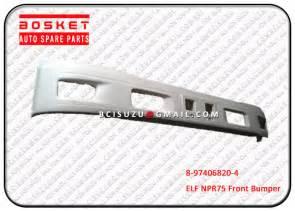 Isuzu Dmax Spare Parts Npr75 4hk1 Isuzu Parts 8974068204 White Front Bumper