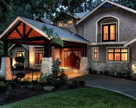 craftsman house plans with porte cochere porte cochere circle drive ideas pictures remodel and decor