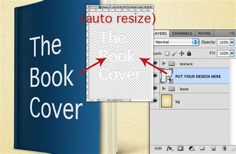 3d book cover template photoshop
