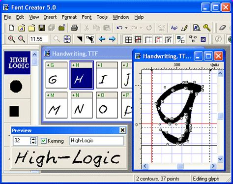 design font creator font creator font creator editor software free download