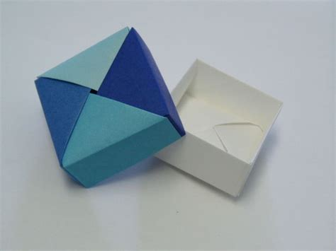 Origami Square Box - origami boxes