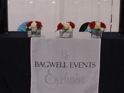 Wedding Table Banner by Personalized Wedding Table Runner Company Business Logo