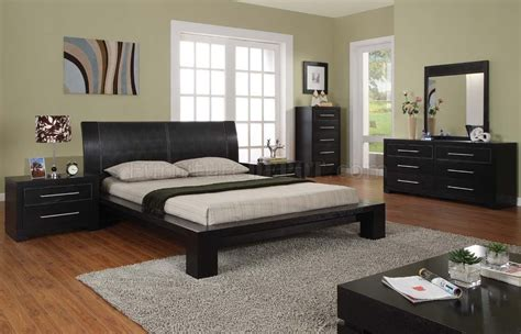 Bedroom Furniture Pics Modern 5 Bedroom Set Berlin Espresso
