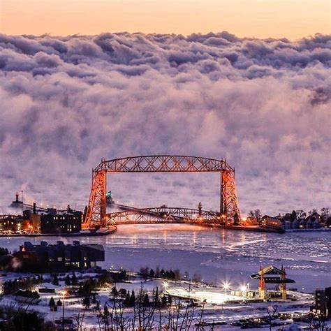duluth sea smoke amazing photo of sea smoke fog rising off of lake