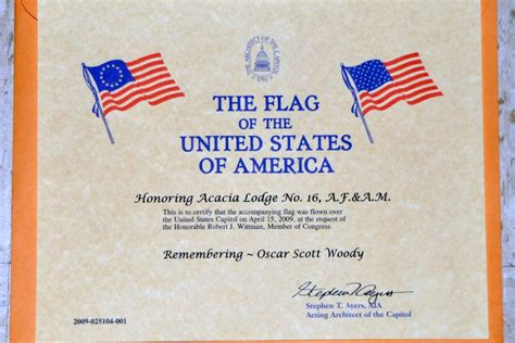 30 Images Of Flag Flown Template Geldfritz Net Flag Certificate Template