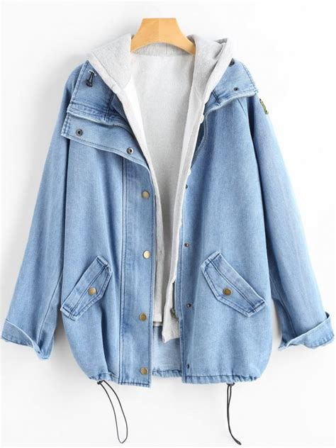 light jean jacket womens 72 2018 button up denim jacket and hooded vest in
