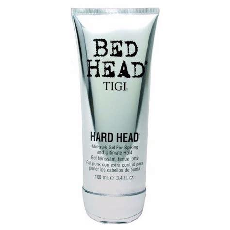 tigi bed head hard head tigi bed head hard head mohawk gel 100 ml