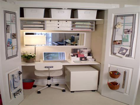 Creative Desk Ideas For Small Spaces Home Office Ideas For Small Spaces