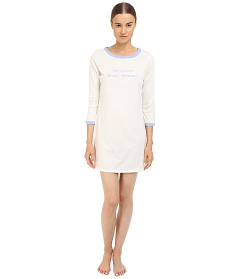 Light Sleeper Heavy Dreamer by Kate Spade New York Light Sleeper Heavy Dreamer Sleep Shirt 6pm