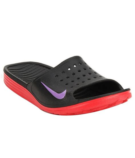Nike Solarsoft nike solarsoft slide black slippers price in india buy