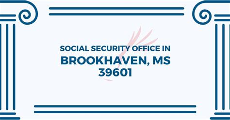 social security office in brookhaven mississippi 39601