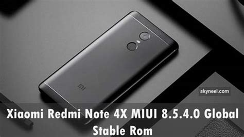 Paket Xiaomi Redmi 4x 4 X 5 0 Back Cover Anti Softcase Soft xiaomi redmi note 4x miui 8 5 4 0 global stable rom
