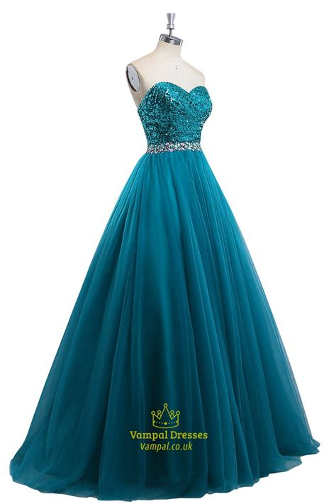 beaded blue dress aqua blue sequin beaded sleeveless prom dress with beaded