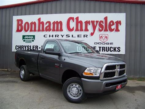Chrysler Dodge Jeep Ram Dealership Bonham Chrysler Jeep Dodge Dealer Presents The All New