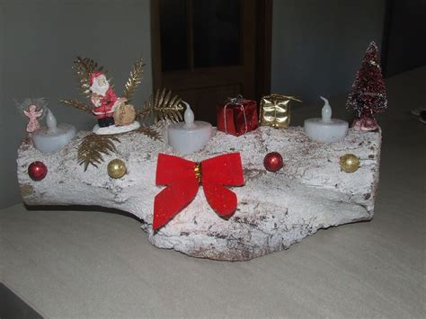 Decoration Buche De Noel Maison by Decoration Noel Avec Buche Bois D 233 Coration De No 235 L D 233 Co
