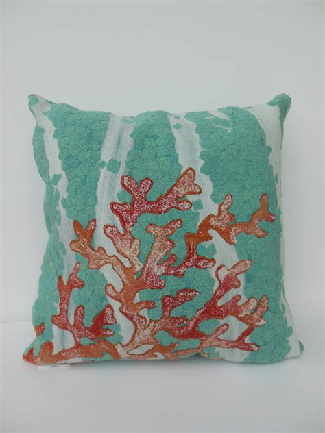 Antimicrobial Pillows by Sea Coral Indoor Outdoor Pillow Microfiber Antimicrobial