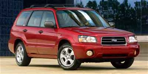 2003 subaru forester prices and expert review the car connection