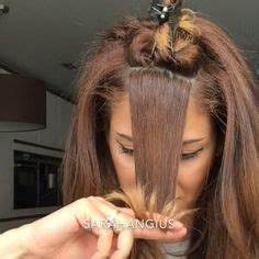 7 amazing hairstyles design by sarah angius part 2 1000 ideas about middle part hairstyles on pinterest