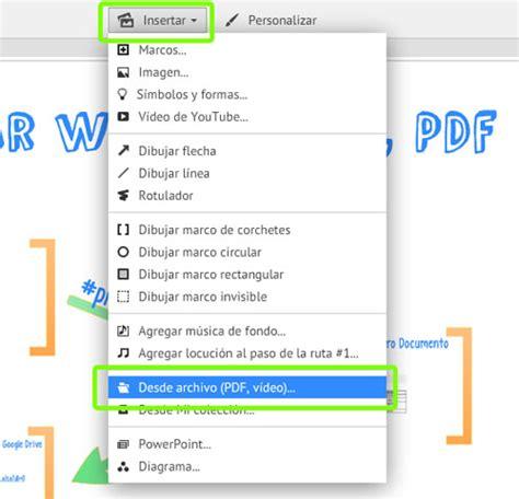 como insertar imagenes a un pdf insertar un documento word o pdf en prezi miprezi