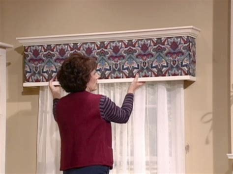 crown molding window treatments how to build and install an upholstered window cornice box