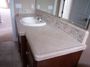 Tile Bathroom Countertop Ideas by 403 Forbidden