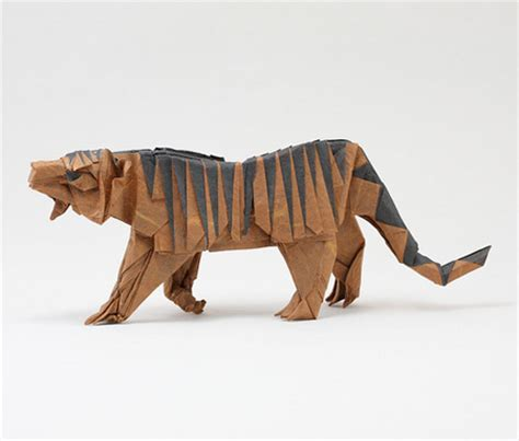 Tiger Origami - origami animals