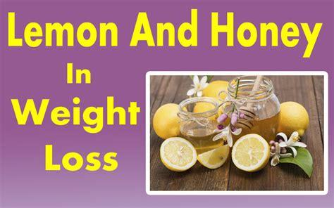 weight loss using honey lemon honey diet for weight loss