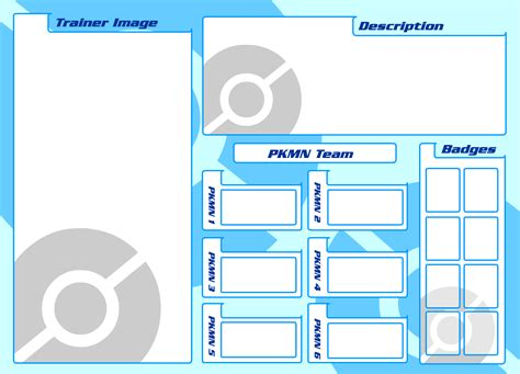 how to make trainer cards tecro trainer card template by trakker on deviantart