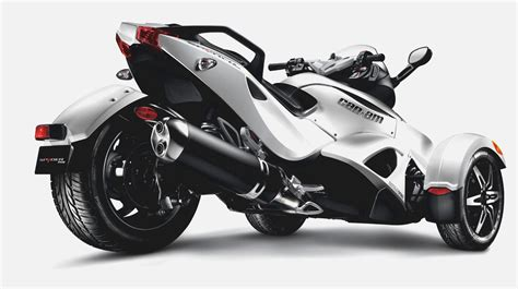 2013 Can Am Spyder RS S motorcycle review @ Top Speed