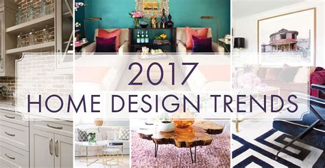 home design trends 2017 top home d 233 cor trends for 2017 millennials