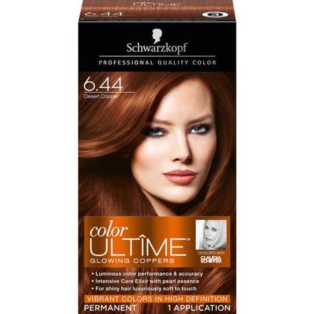 Harga Schwarzkopf Hair Colour schwarzkopf color ult me glowing coppers 6 44 desert