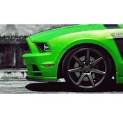 1920x1080 Green Shelby Mustang Desktop PC And Mac Wallpaper