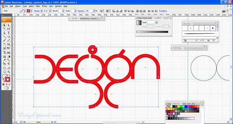 zoom pattern illustrator how to create a cool and colorful logo in adobe