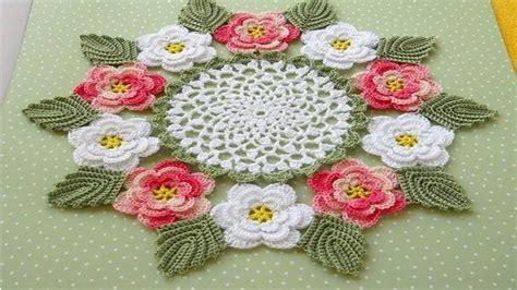 tapetes en croche con figuras tapetes lindos con flores tejidos a crochet n 186 003 youtube