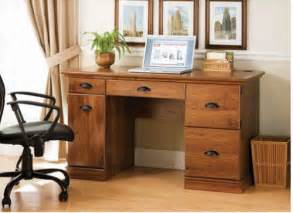 Oak Desks For Home Office Desk Home Office Executive Furniture Oak Finish Computer Laptop Table Desks Ebay