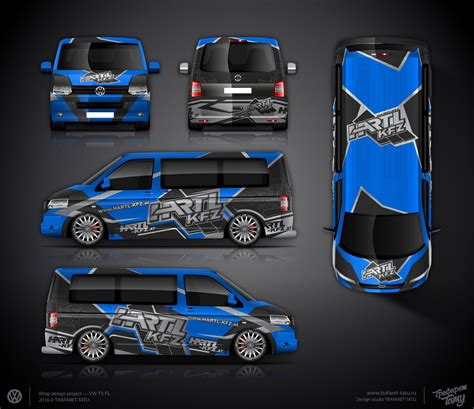 Design Folie Vw Up by The Approved Branding Wrap Design For Vw T5 Car Wrap