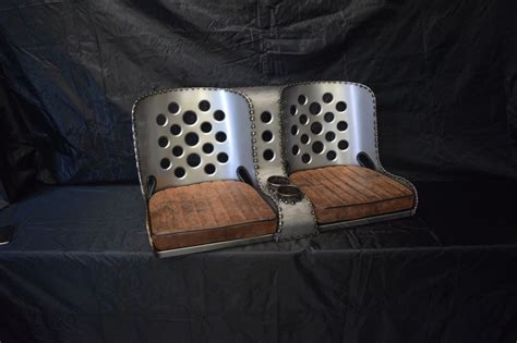 rod seats bomber seat rat rod rod quot bench quot seat 40 quot with brown