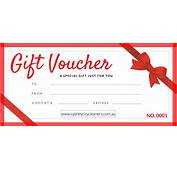 Gift Vouchers  The Perfect For Loved Ones And