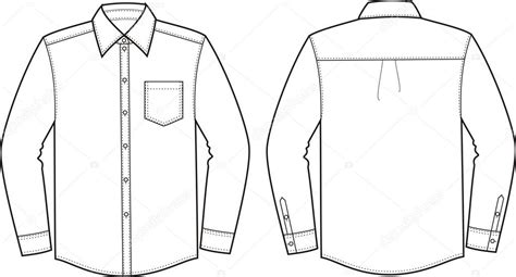 corporate shirt template vector camisa negocio vector de stock 169 pushinka11 22676971