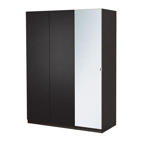 Pax Wardrobe Height by Pax Wardrobe With 1 Door White Nexus Oak Veneer 50x37x201