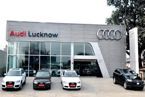 In Audi Showroom Audi India Enters Lucknow 9 More Showrooms For 2013