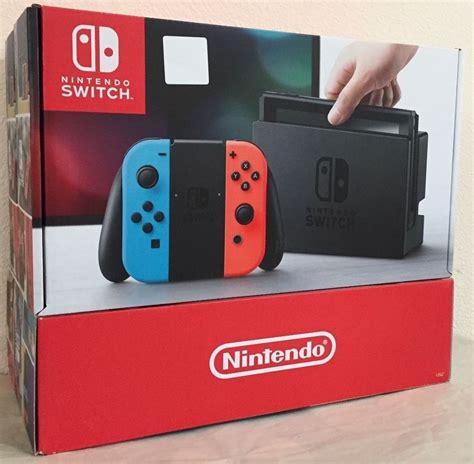 Nintendo Switch Gray Con nintendo switch 32gb gray console with neon neon